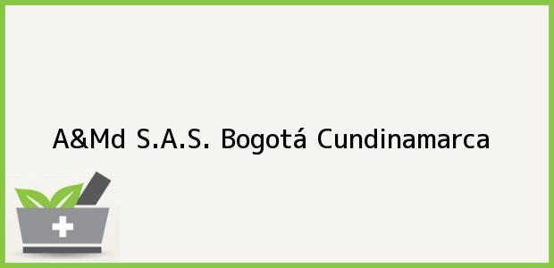 Teléfono, Dirección y otros datos de contacto para A&Md S.A.S., Bogotá, Cundinamarca, Colombia