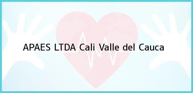 Teléfono, Dirección y otros datos de contacto para APAES LTDA, Cali, Valle del Cauca, Colombia