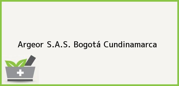 Teléfono, Dirección y otros datos de contacto para Argeor S.A.S., Bogotá, Cundinamarca, Colombia