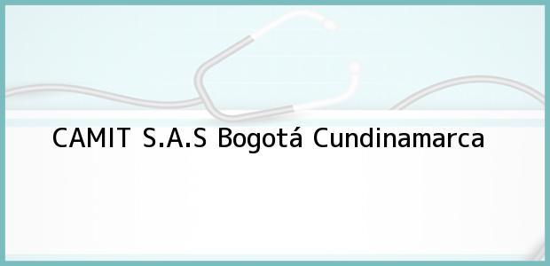 Teléfono, Dirección y otros datos de contacto para CAMIT S.A.S, Bogotá, Cundinamarca, Colombia