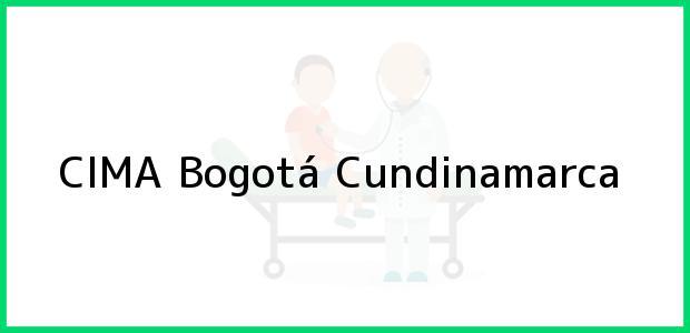 Teléfono, Dirección y otros datos de contacto para CIMA, Bogotá, Cundinamarca, Colombia
