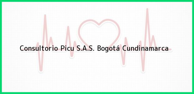 Teléfono, Dirección y otros datos de contacto para Consultorio Picu S.A.S., Bogotá, Cundinamarca, Colombia