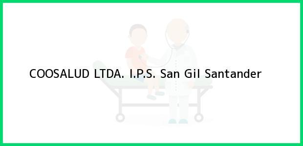 Teléfono, Dirección y otros datos de contacto para COOSALUD LTDA. I.P.S., San Gil, Santander, Colombia