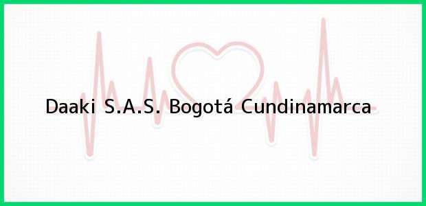 Teléfono, Dirección y otros datos de contacto para Daaki S.A.S., Bogotá, Cundinamarca, Colombia
