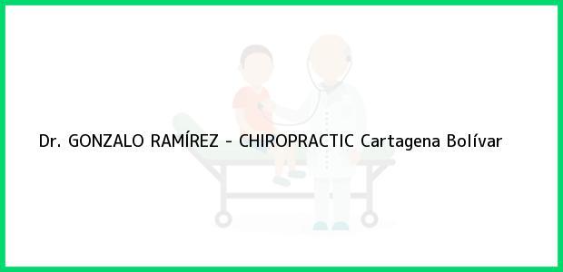 Teléfono, Dirección y otros datos de contacto para Dr. GONZALO RAMÍREZ - CHIROPRACTIC, Cartagena, Bolívar, Colombia