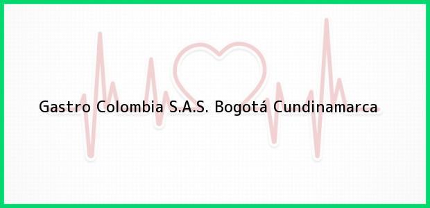 Teléfono, Dirección y otros datos de contacto para Gastro Colombia S.A.S., Bogotá, Cundinamarca, Colombia
