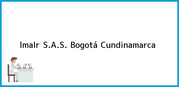 Teléfono, Dirección y otros datos de contacto para Imalr S.A.S., Bogotá, Cundinamarca, Colombia