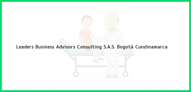 Teléfono, Dirección y otros datos de contacto para Leaders Business Advisors Consulting S.A.S., Bogotá, Cundinamarca, Colombia