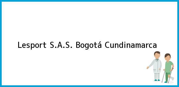 Teléfono, Dirección y otros datos de contacto para Lesport S.A.S., Bogotá, Cundinamarca, Colombia
