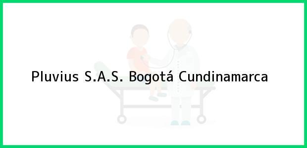 Teléfono, Dirección y otros datos de contacto para Pluvius S.A.S., Bogotá, Cundinamarca, Colombia