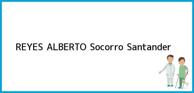 Teléfono, Dirección y otros datos de contacto para REYES ALBERTO, Socorro, Santander, Colombia