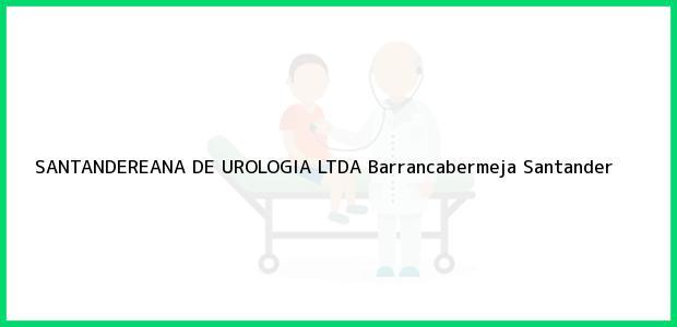Teléfono, Dirección y otros datos de contacto para SANTANDEREANA DE UROLOGIA LTDA, Barrancabermeja, Santander, Colombia