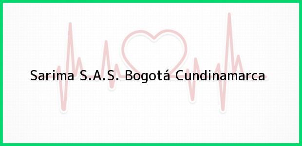 Teléfono, Dirección y otros datos de contacto para Sarima S.A.S., Bogotá, Cundinamarca, Colombia