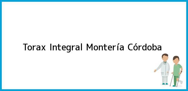 Teléfono, Dirección y otros datos de contacto para Torax Integral, Montería, Córdoba, Colombia