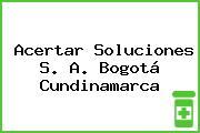 Acertar Soluciones S. A. Bogotá Cundinamarca