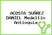 ACOSTA SUÁREZ DANIEL Medellín Antioquia