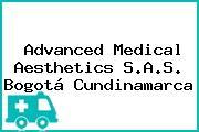 Advanced Medical Aesthetics S.A.S. Bogotá Cundinamarca
