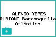 ALFNSO YEPES RUBIANO Barranquilla Atlántico