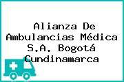 Alianza De Ambulancias Médica S.A. Bogotá Cundinamarca