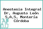 Anestesia Integral Dr. Augusto León S.A.S. Montería Córdoba