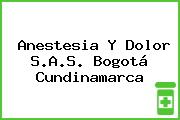 Anestesia Y Dolor S.A.S. Bogotá Cundinamarca