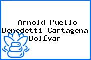 Arnold Puello Benedetti Cartagena Bolívar