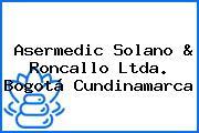 Asermedic Solano & Roncallo Ltda. Bogotá Cundinamarca