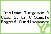 Atalamo Turgeman Y Cía. S. En C Simple Bogotá Cundinamarca