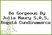 Be Gorgeous By Julia Maury S.A.S. Bogotá Cundinamarca