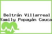 Beltrán Villarreal Yamily Popayán Cauca