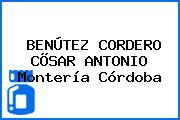 BENÚTEZ CORDERO CÕSAR ANTONIO Montería Córdoba