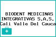 BIODENT MEDICINAS INTEGRATIVAS S.A.S. Cali Valle Del Cauca