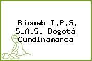 Biomab I.P.S. S.A.S. Bogotá Cundinamarca