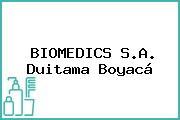 BIOMEDICS S.A. Duitama Boyacá
