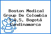 Boston Medical Group De Colombia S.A.S. Bogotá Cundinamarca