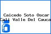 Caicedo Soto Oscar Cali Valle Del Cauca