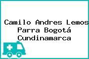 Camilo Andres Lemos Parra Bogotá Cundinamarca