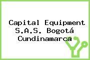 Capital Equipment S.A.S. Bogotá Cundinamarca