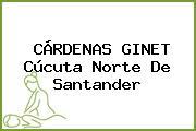 CÁRDENAS GINET Cúcuta Norte De Santander