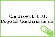 Cardiofit E.U. Bogotá Cundinamarca