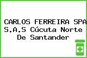 CARLOS FERREIRA SPA S.A.S Cúcuta Norte De Santander