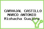 CARVAJAL CASTILLO MARCO ANTONIO Riohacha Guajira