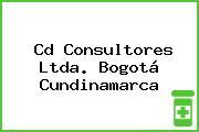 Cd Consultores Ltda. Bogotá Cundinamarca