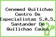 Cenemed Quilichao Centro De Especialistas S.A.S. Santander De Quilichao Cauca