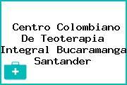 Centro Colombiano De Teoterapia Integral Bucaramanga Santander