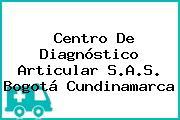 Centro De Diagnóstico Articular S.A.S. Bogotá Cundinamarca