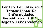 Centro De Estudio Y Tratamiento De Enfermedades Reumáticas S.A.S. Bogotá Cundinamarca
