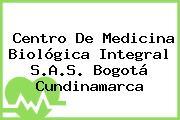 Centro De Medicina Biológica Integral S.A.S. Bogotá Cundinamarca