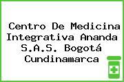 Centro De Medicina Integrativa Ananda S.A.S. Bogotá Cundinamarca