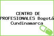 CENTRO DE PROFESIONALES Bogotá Cundinamarca
